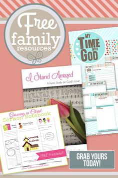 Are you looking for ways to bless your family? Not Consumed Blog has a large collection of family resources that will save you time and money. These FREE printables are valuable items the simplify my life every single day. I pray that they will bless your family, too!