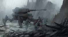 WW2 Tiger mech by alexson1 on DeviantArt
