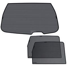 Laitovo La-S-436 Premium Tailored Privacy Rear Window Sunshade Set
