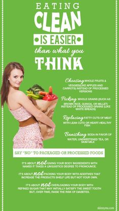 Clean Eating is Easier than you Might Think! #cleaneating #healthy #recipes