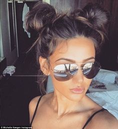 Michelle Keegan begins working in South Africa as Mark Wright looks glum at home., Summer Hairstyles, Michelle Keegan begins working in South Africa as Mark Wright looks glum at home Doubles Chignons, African Hairstyles, Bun Hairstyles, Pretty Hairstyles, 2 Buns Hairstyle, Concert Hairstyles, Festival Hairstyles, Workout Hairstyles, Hairstyles 2016