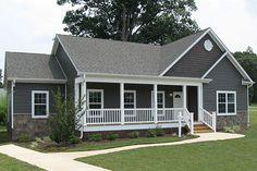 North Carolina Modular Home Floor Plans - Trenton I Ranch