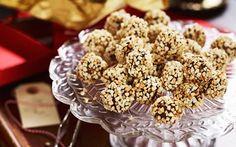 Chokladtryffel med glögg och mandel