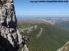 Crimea. Chatyrdag mountain plateau