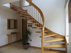 Image result for metal staircases interior