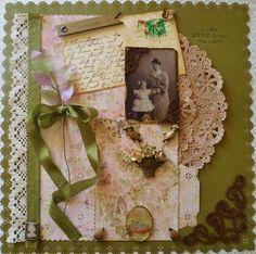 ~Scraps of Elegance~ Cherished - Scrapbook.com