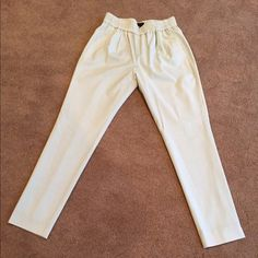 J. Crew mint color pants These J. Crew mint pants are so comfy. NWT. Add some color to your wardrobe. Size 2. tradesPP J. Crew Pants Ankle & Cropped