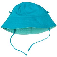 Reversible Cotton Canvas Baby Sunhat, Double your options with this reversible fisherman style sunhat. Two super colours to choose from comes with detachable ties to keep it in place.