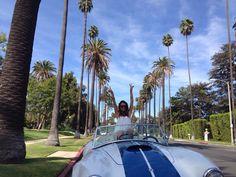 Cruising in LA