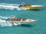 Saona Island Cruise Experience Adult Price: $98.00  You'll take a scenic catamaran sail one way and a thrilling speedboat ride the other over the beautiful blues of the Caribbean Sea. An All Inclusive tour that reveals the true beauty of the Caribbean topped off by a dip in the coolest most idyllic natural swimming pool in the Dominican Republic. Available in: Punta Cana, Bavaro and Cap Cana https://www.therealdr.com/book-punta-cana-tours/saona-island-cruise-experience.html