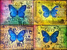 Die schlichte Karte: Butterfly von IndigoBlu