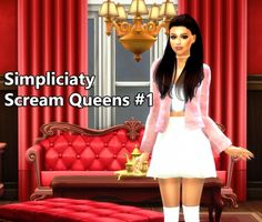 Simpliciaty: Scream Queens 1 • Sims 4 Downloads