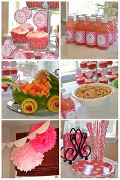 Baby Doll Birthday Party 4th Parties Ideas