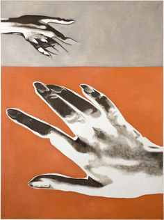 Rene Luckhardt at Bernd Kugler Contemporary Art Daily, Visual Arts, Canvas, Pj, Archive, Poster, Objects, Painting, Orange