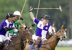 Prince Harry Photos - Prince Harry at a Charity Polo Match - Zimbio