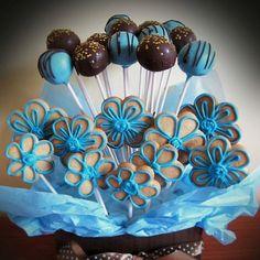 Cake n cookie pops