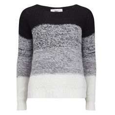 Vero Moda Women's Fulki Contrast Jumper (915 DOP) ❤ liked on Polyvore featuring tops, sweaters, black, color block top, jumpers sweaters, black top, black jumper and colorblock top