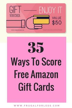 Looking for a FREE Amazon Gift Card? These 35 money making sites will help you earn cash, gift cards and other prizes. This is a great way to make money from home and improve your side hustle. Keep in