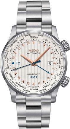 fdb289e2ffb MIDO Multifort Automatic Bracelet Watch Stainless Steel Case