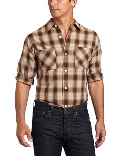 Carhartt Men's Long Sleeve Light Weight Plaid Shirt $6.75 - $45.64
