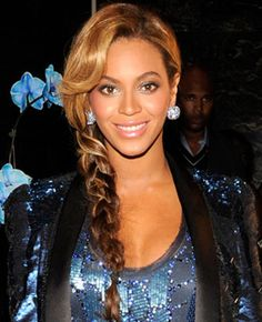 Beyonce Knowles' Sexy Braided Hairstyle. Amazing!