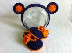 Newborn/Infant Chicago Bears Pacifier with Clip