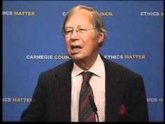 Ronald Dworkin presents his theory of equality. It took place on December 6, 2011.