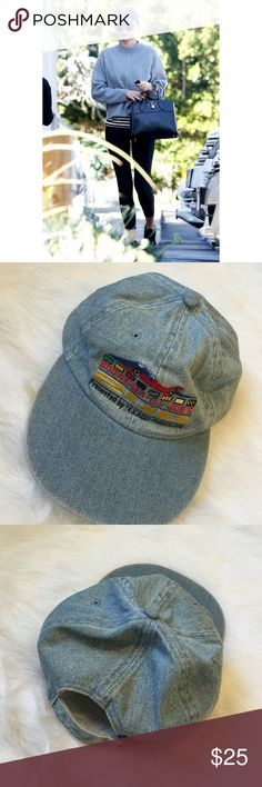 [Vintage] •Denim Budweiser Baseball Dad Hat• Awesome vintage denim cap with F1 car. Budweiser X G.I. Joe's 200 Presented by Texaco-Havoline. Amazing condition, no stains. Cover photo not actual hat, just used to show how to style!! Photos 2-4 are item for sale.           modeling. Vintage Accessories Hats