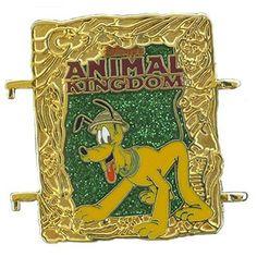 Pluto Animal Kingdom World of Magic Passholder Disney Pin  $14.99