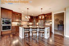 Exclusive House Plan 73330HS - Kitchen  House Plan Link: http://www.architecturaldesigns.com/house-plan-73330HS.asp