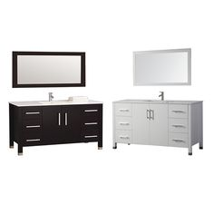 "Monaco 60"" Single Sink Bathroom Vanity Set"