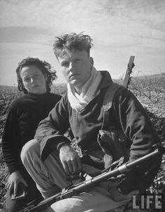 Haganah members - Tel Aviv,Israel-1948.
