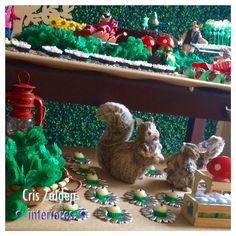 Bichinhos da festa na floresta by Cristina Zaiden Interiores