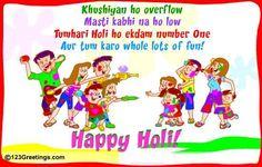 Holi Wishes For Friends. #holi #colors #fun Holi Festival Of Colours, Holi Colors, Happy Holi Wallpaper, Holi Greetings, Holi Wishes, Wishes For Friends, Number One, Holi 2014, Joy
