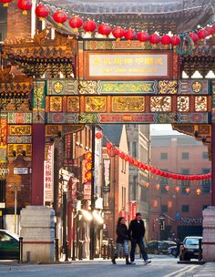 Chinese New Year, Chinatown, Manchester, England, 3 February 2012, by davekpcv.