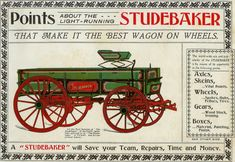 Studebaker wagon advertisement, undated
