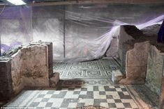 Sprawling ruins of the 2,000 year old home of a Roman military commander have been unearth...
