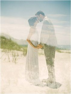 Multiple Exposure Wedding Photos