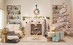Novas cores para o Natal -  Branco se une ao preto e ao turquesa