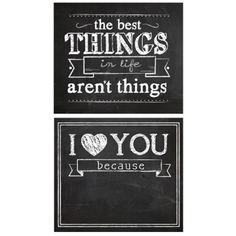 Chalkboard Wall Panels for sweet reminders