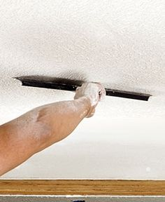 Bid farewell to this not-so-charming ceiling feature with your choice of three DIY options. Your options depend on the age and condition of your popcorn ceiling. Read on to find the method that will work best for you.