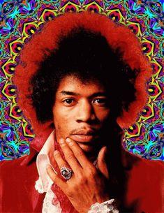 """ Excuse me while a kiss the sky…"" ~ Jimi Hendrix"