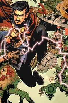 Preview: Doctor Strange #1, Page 3 of 11 - Comic Book Resources