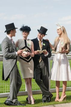 Royal Ascot Fashion 2013 - OMG I'm so making my bf wear a top hat to the Virginia Gold Cup!!!!!! :P