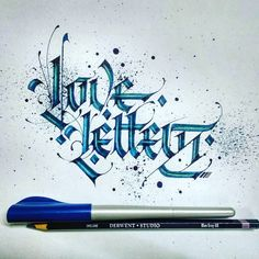 Love Letters✍ @calligraphymasters // ♡ BEAUTIFULLY DONE! ♥A