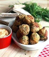 Weigh-Less Online - Pork Meatballs And Pita Bread