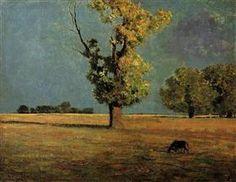 Peyrelebade Landscape - Odilon Redon