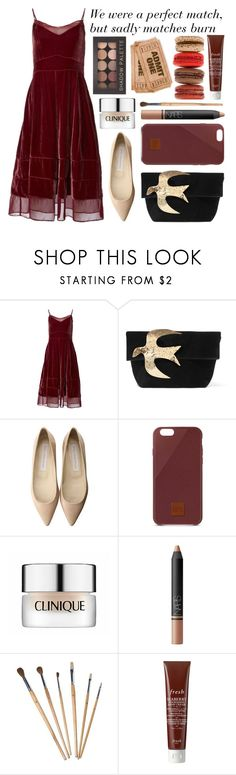 """""""We were a perfect match"""" by bubblybeauty135 ❤ liked on Polyvore featuring Timo Weiland, Nina Ricci, STELLA McCARTNEY, Native Union, Clinique, NARS Cosmetics, Fresh and Forever 21"""