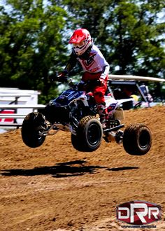 Agustino Abatello takes Place in the class on his DRR DRX at Auto Underground MX on Youth Atv, Four Wheelers, Atvs, Dirt Bikes, Identity, Monster Trucks, Action, Racing, Mini