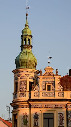 Písek (South Bohemia), Czechia by Te Whiu Prague City, Prague Castle, Prague Czech Republic, Europe Photos, Beautiful Places In The World, Central Europe, Place Of Worship, Beautiful Buildings, Eastern Europe